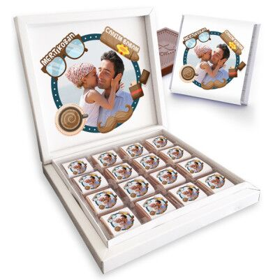 - Canım Babam Fotoğraflı Çikolatalar