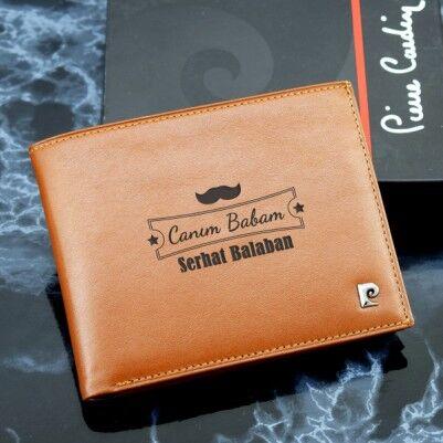 Canım Babam Pierre Cardin Cüzdan - Thumbnail