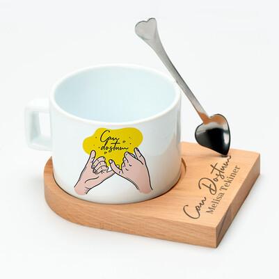 - Canım Dostuma Özel Çay Fincanı