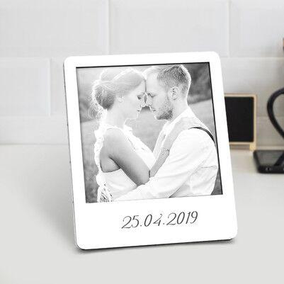 Canım Sevgilim Ahşap Polaroid Çerçeve - Thumbnail