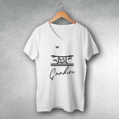 - Çankırı Tasarımlı Tişört