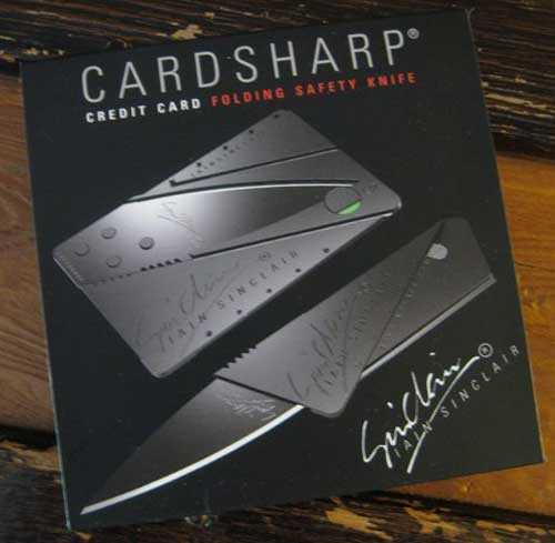 Cardsharp - Kart Bıçak