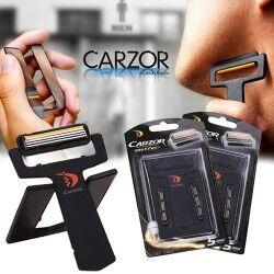 Carzor - Kredi Kartı Şeklinde Tıraş Bıçağı - Thumbnail