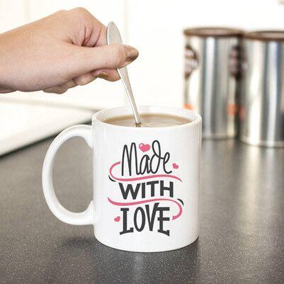 - Çay Sever Arkadaşa Hediye Tasarım Kupa Bardak