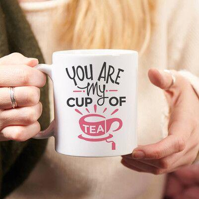- Çay Tiryakilerine Özel Tasarım Kupa Bardak