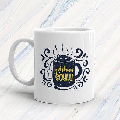 Çay Tiryakisi Erkeklere Özel Hediye Kutusu - Thumbnail