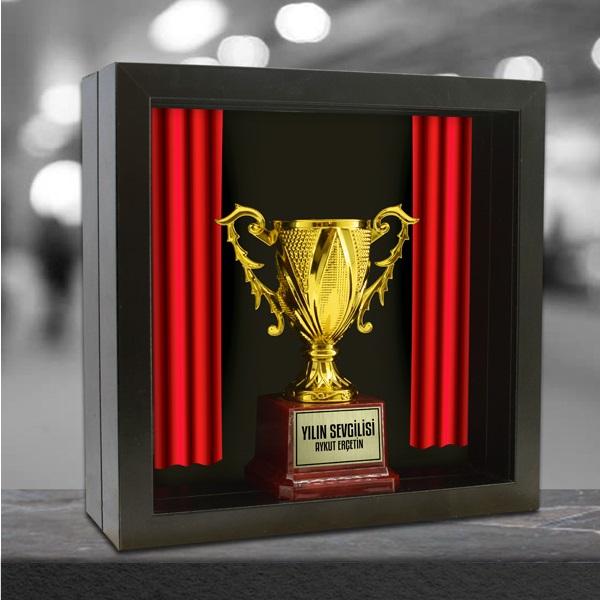 Çerçeve İçerisinde Kişiye Özel Ödül Kupası