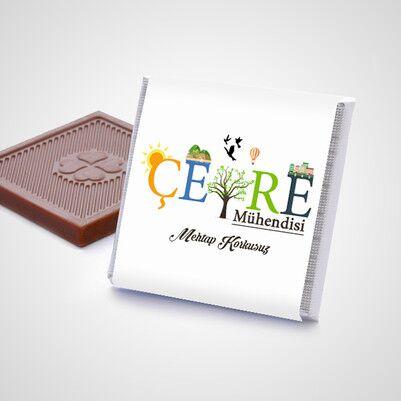 Çevre Mühendislerine Hediye Çikolata Kutusu - Thumbnail