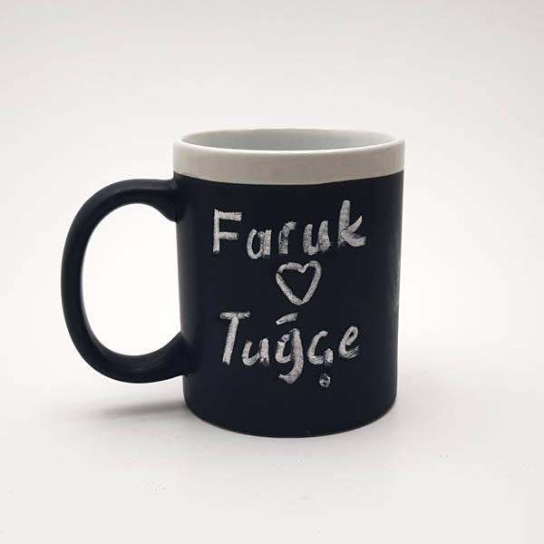 Chalk Mug - Tebeşir Kupa Bardak