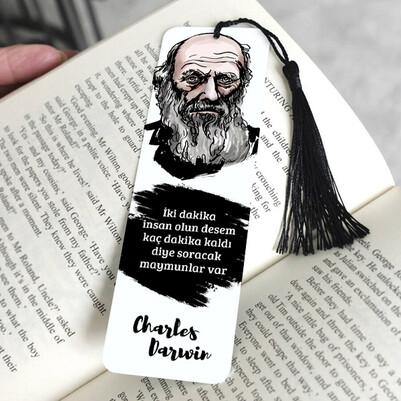 - Charles Darwin Kitap Ayracı