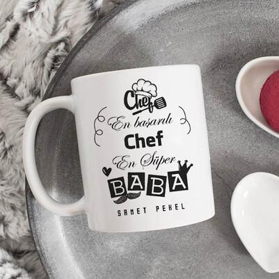 - Chef Babalara Özel Kupa Bardak