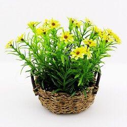 - Çiçek Sepeti Dekoratif Masa Süsü