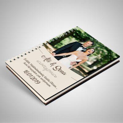 Çiftlere Özel Fotoğraflı Sevgili Defteri - Thumbnail
