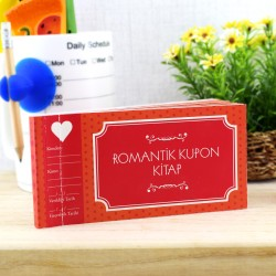 Çiftlere Özel Romantik Kupon Kitap - Thumbnail