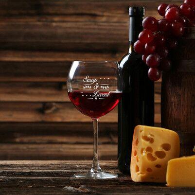 - Çiftlere Özel Şarap Kadehi