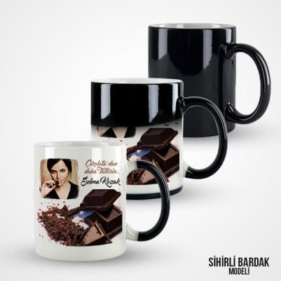 Çikolatalardan Daha Tatlısın Kupa Bardak - Thumbnail
