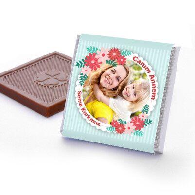 Cıvıl Cıvıl Anneler Günü Temalı Çikolata - Thumbnail