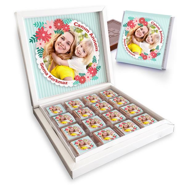 Cıvıl Cıvıl Anneler Günü Temalı Çikolata