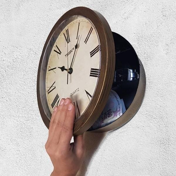 Clock Safe - Saat Kasa
