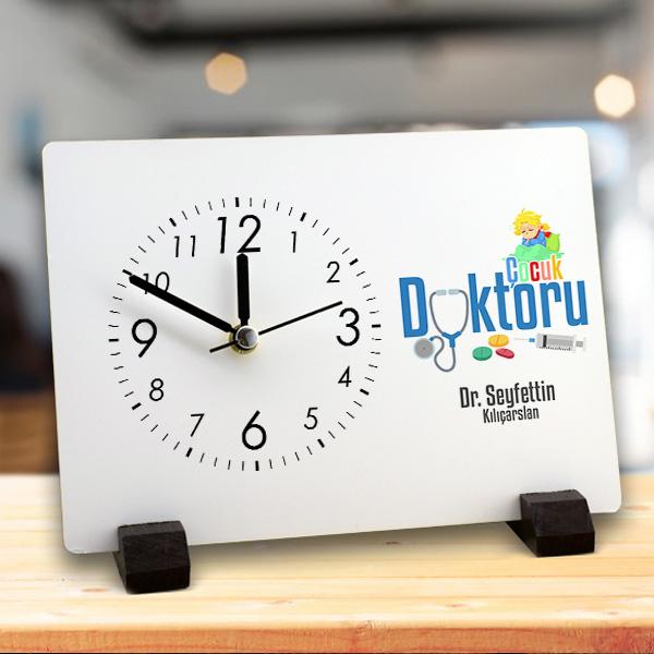 Çocuk Doktorlarına Özel Masa Saati