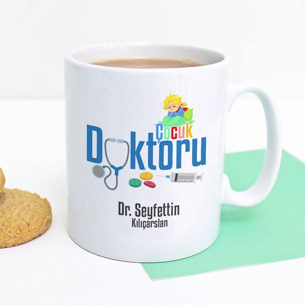 Çocuk Doktoruna Hediye Kupa Bardak