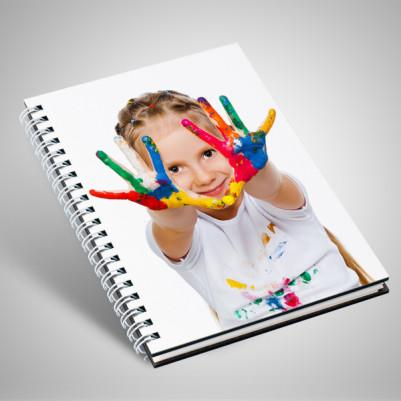 - Çocuklara Özel Fotoğraflı Defter
