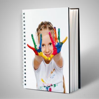 Çocuklara Özel Fotoğraflı Defter - Thumbnail