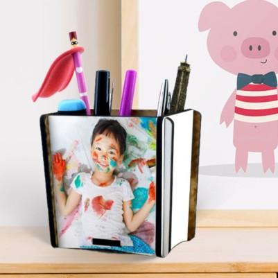 - Çocuklara Özel Fotoğraflı Kalemlik