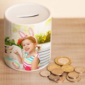 - Çocuklara Özel Fotoğraflı Kumbara