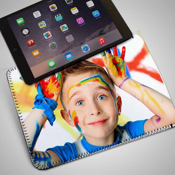 Çocuklara Özel Fotoğraflı Tablet Kılıfı