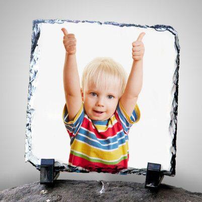 Çocuklara Özel Fotoğraflı Taş Baskı - Thumbnail