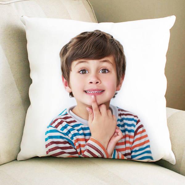 Çocuklara Özel Fotoğraflı Yastık