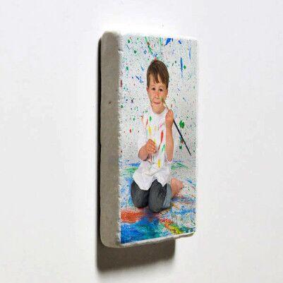 Çocuklara Özel Taş Buzdolabı Magneti - Thumbnail
