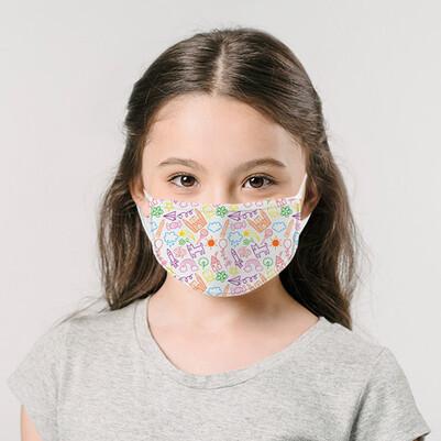 - Çocuklara Özel Tasarım Maske
