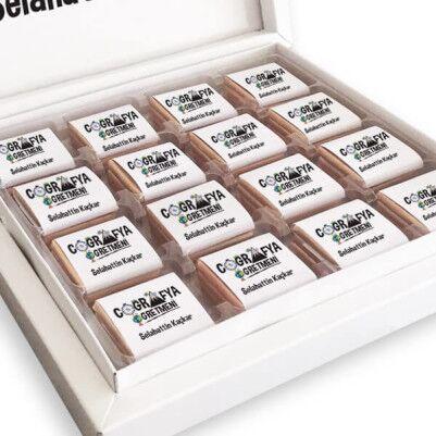 Coğrafya Öğretmenine Hediye Çikolata Kutusu - Thumbnail