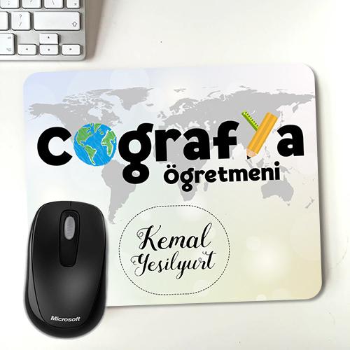 Coğrafya Öğretmenine Hediye Mousepad