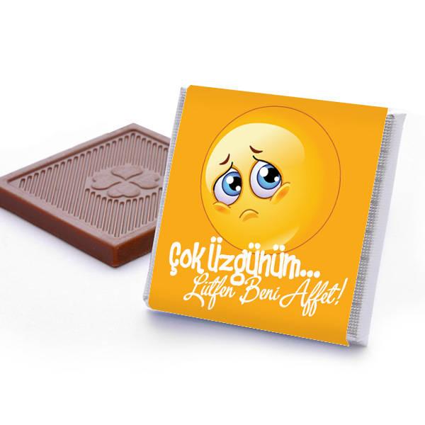Çok Üzgünüm Lütfen Beni Affet Çikolatası