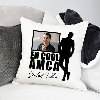 - Cool Amcam Fotoğraflı Yastık