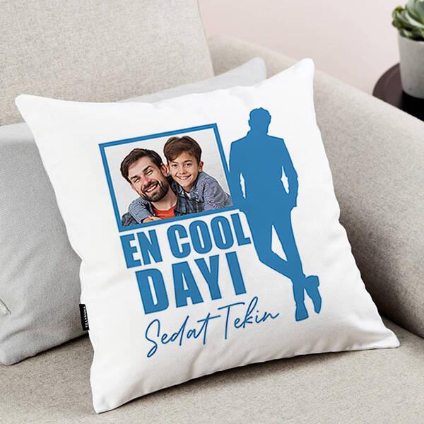 Cool Dayım Fotoğraflı Yastık