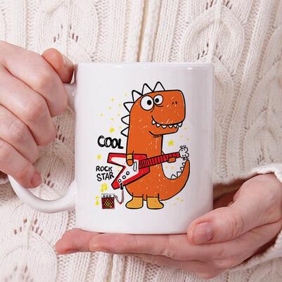 - Cool Dinosaur Tasarım Kupa Bardak