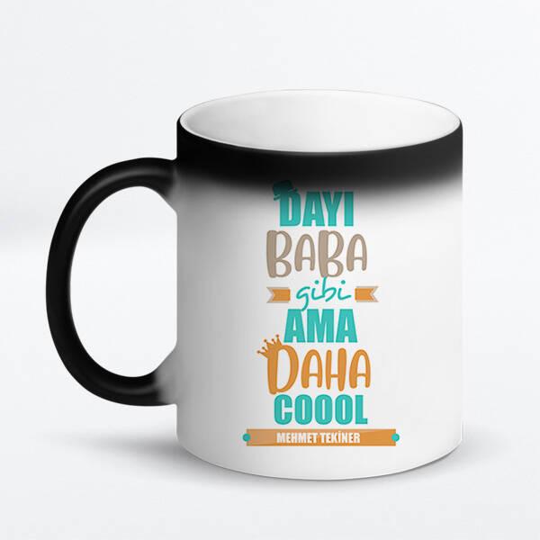 Coool Dayım İsimli Kupa Bardak