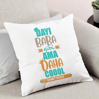 Coool Dayım İsimli Yastık - Thumbnail