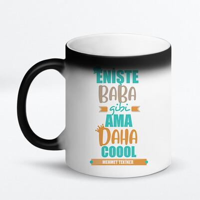 Coool Eniştem İsimli Kupa Bardak - Thumbnail