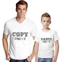 - Copy - Paste Baba Oğul Tişörleri