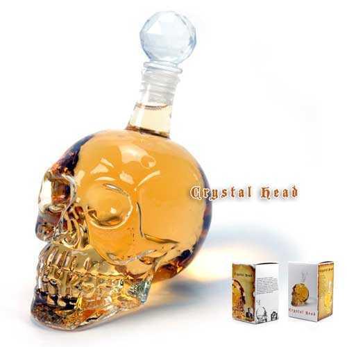 Crystal Head - Kuru Kafa Şişesi