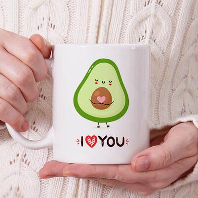 - Cute Pear Tasarım Kupa Bardak