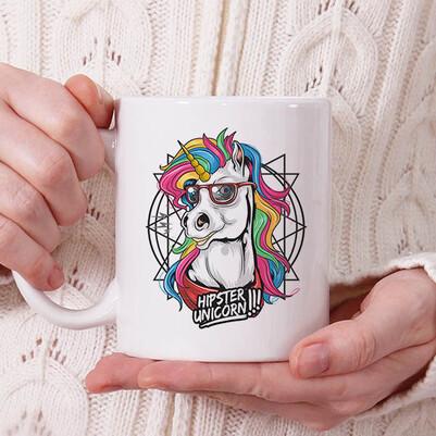 - Cute Unicorn Tasarım Kupa Bardak