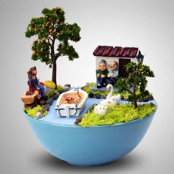 Daima Seninleyim Minyatür Bahçe