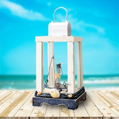 - Dekoratif Ahşap Deniz Feneri