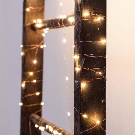 Dekoratif Bakır Tel Işıklar